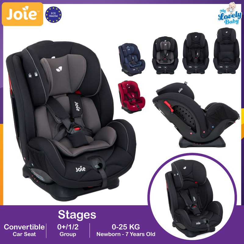 Joie Stages Convertible Car Seat Life Time 1 To 1 Crash Exchange Warranty
