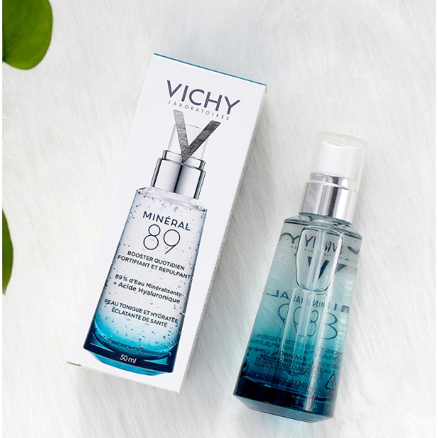 VICHY 89 Hyaluronic Acid Mineral Essence 50m Volcanic Energy Bottle Muscle  Bottom