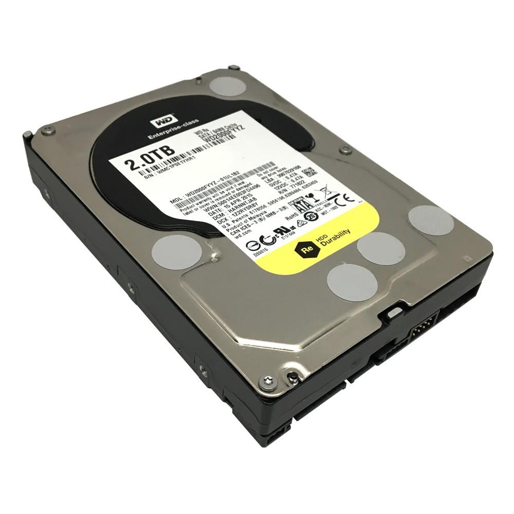 "Western Digital WD2000FYYZ 2TB 7200RPM 64MB SATA 6Gb//s 3.5/"" Internal Hard Drive"