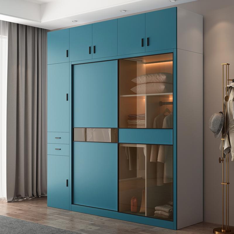 Baru Cahaya Mewah Gelongsor Pintu Almari Mudah Moden Nordic Pintu Kaca Bilik Tidur Pemasangan Pintu Gelangsar Gelongsor Shopee Malaysia