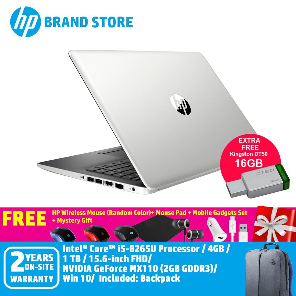 HP 15-da1018TX/15-da1017TX Notebook+Free Premium GIft+16GB USB Drive