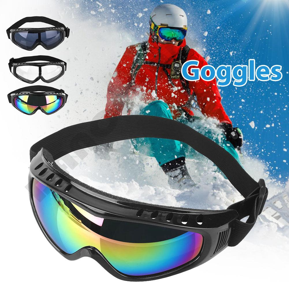 15148a0ce0fd Ski Snowboard Goggles Eyewear Anti-UV Windproof Anti-fog Outdoor Equipment