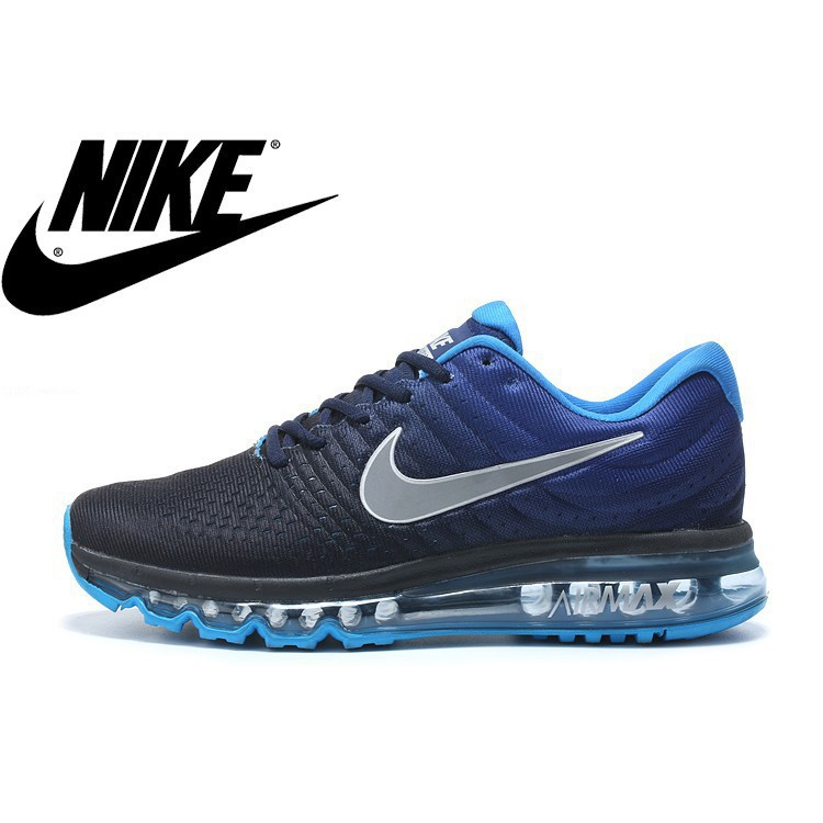 ☯Original☯ Nike shoes Breathable Air Max 12 Colour blue Lelaki Kasut saiz 36 45