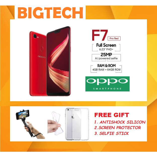 Oppo F7 (4GB RAM+64GB ROM) - 1 Year Distributor Warranty
