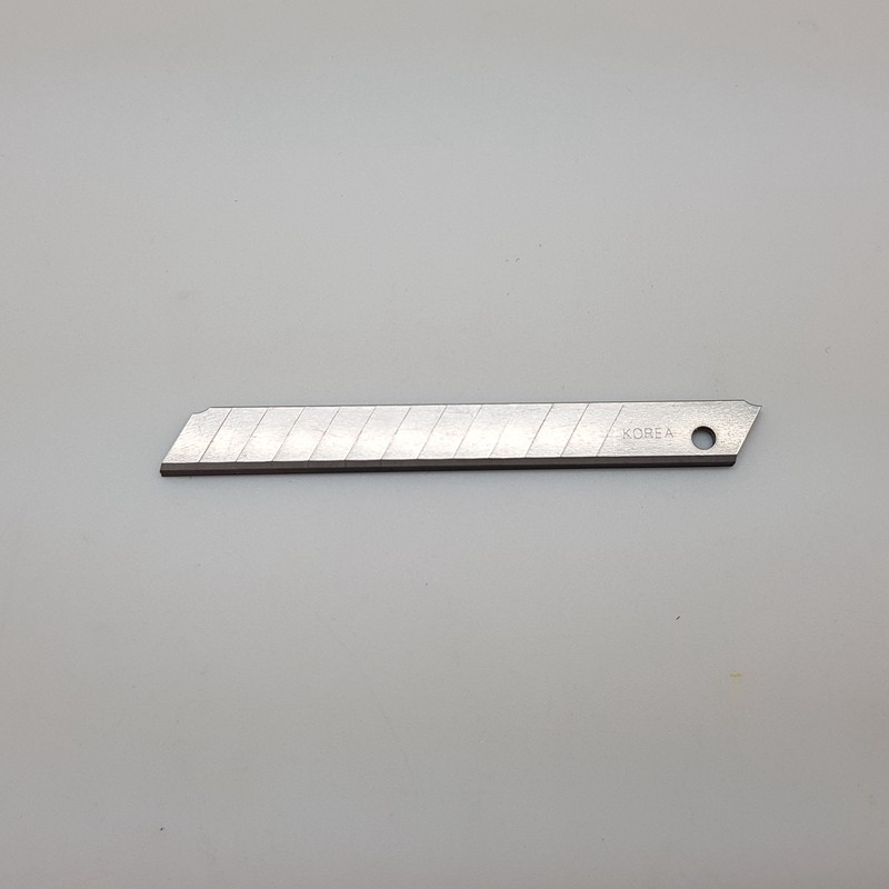 [MADE IN KOREA] Brand 30/58 degree angle 9mm snap blade/18mm snap blade 5pcs/pkt