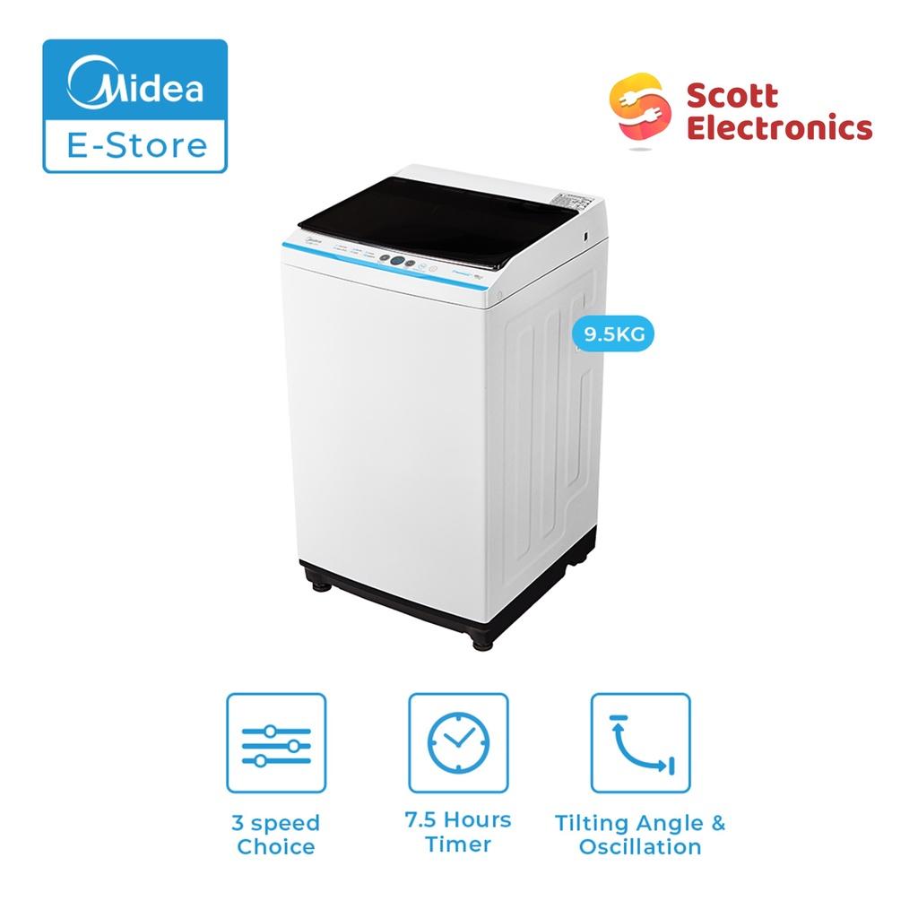 Midea Fully Auto Washing Machine MA100W95/WK/E