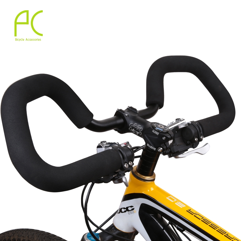 1Pair Bicycle Soft Handlebar Mountain Bike Bicycle Cycling Antislip Foam Sponge