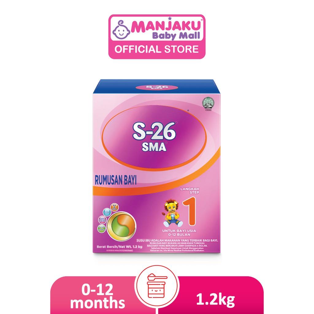 S-26 SMA Step 1 Infant Milk Formula (1.2kg)