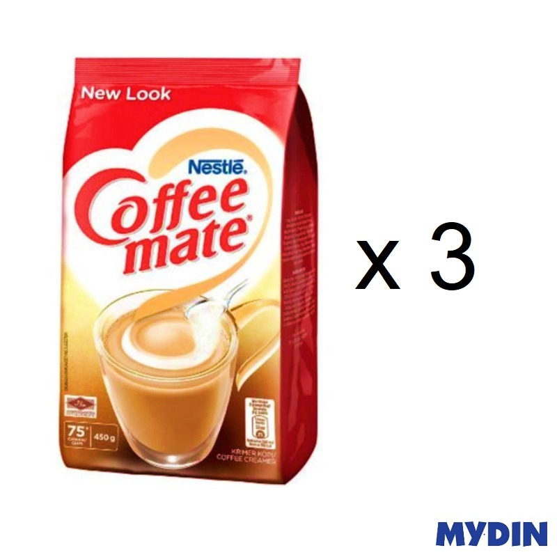Coffee Mate Refill Pouch (3 x 450g)