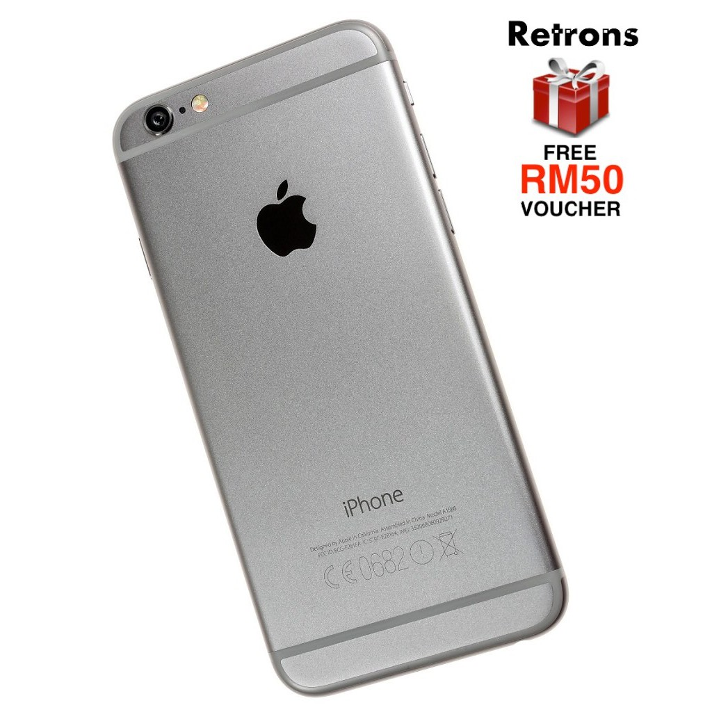 🇲🇾 Ori Apple iPhone 6 128GB Used 95% Body Condition [1 Month Warranty] FREE RM50 Voucher
