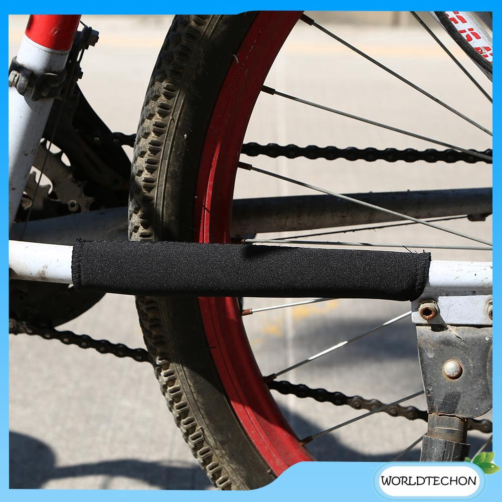 2X Cycling Bicycle Bike Frame Chain stay Protector Guard Nylon Pad Cover IJ