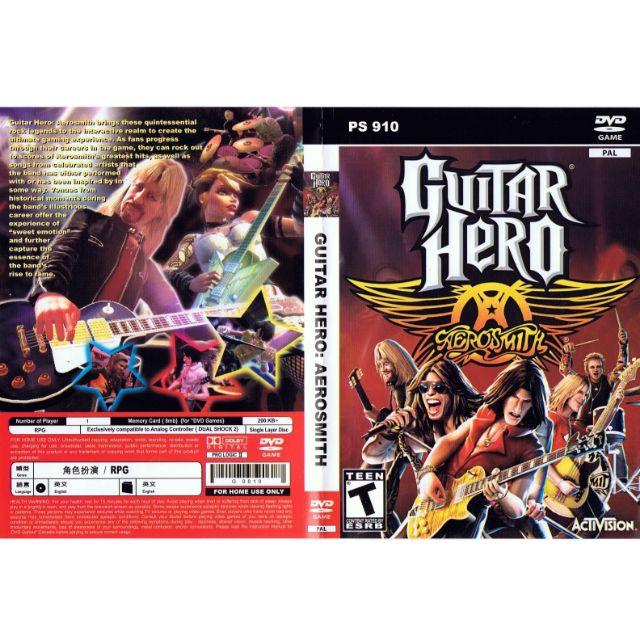 PS2 Games CD Collection Guitar Hero Aerosmith