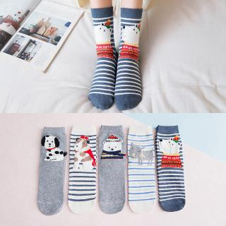 diversified in packaging beautiful and charming the best Socks, ladies, cute, three-dimensional cartoon animals, all cotton socks.