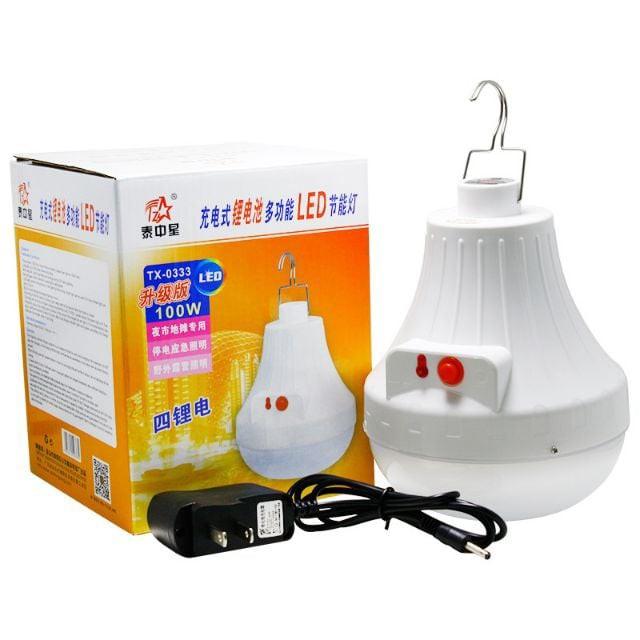 RECHARGEABLE LED LIGHT / LIGHT BULB / emergency light / lampu pasar malam 100w