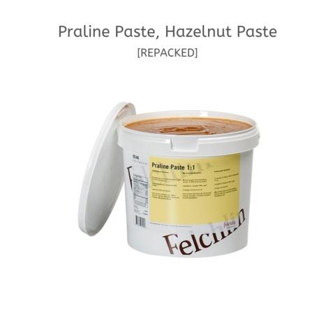 FELCHLIN, Praline Paste 1:1, Hazelnut Paste, 500 g
