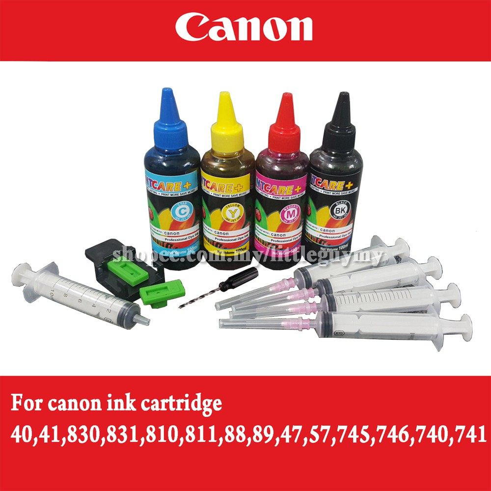 Canon Cl 741 Ink Color Cartridge Shopee Malaysia Tinta 831