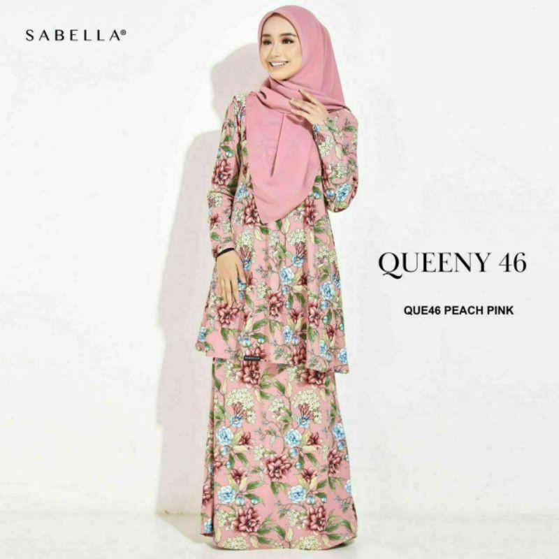 Sabella Queeny Kurung Size XS dan S [Ready Stock]