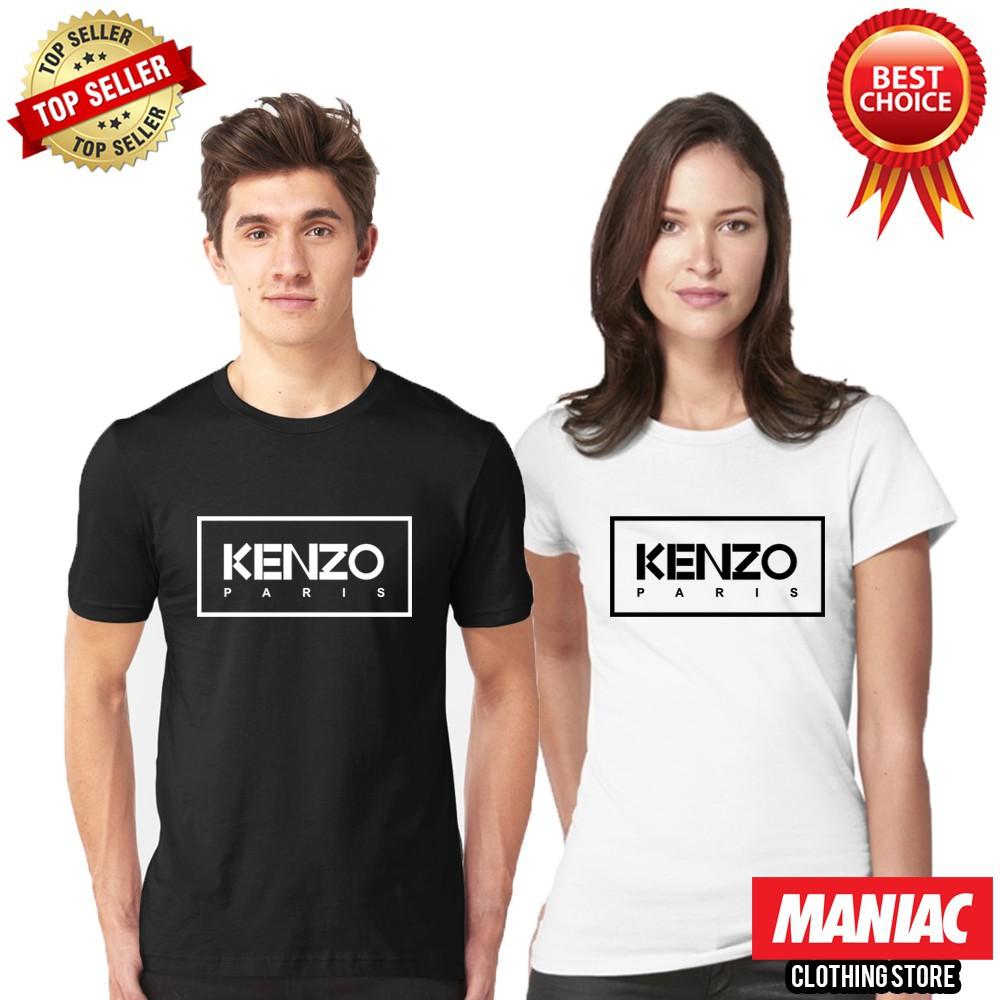 Brand New KENZ PARIS Unisex Tee Tops Shirts UK Men/'s Cotton T-Shirt Women Blouse