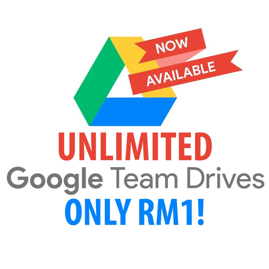 [PROMO] Google Team Drives (Unlimited, Lifetime, Use Existing Gmail ID)