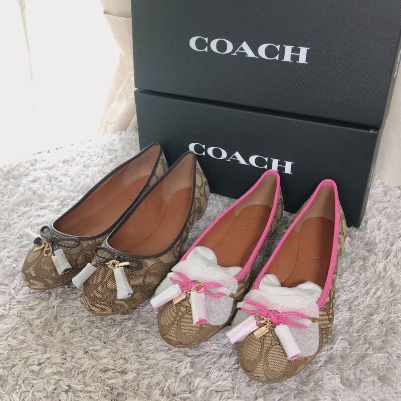 รองเท้าแบบสวมCoach ของแท้💯สวยมากงานหายา