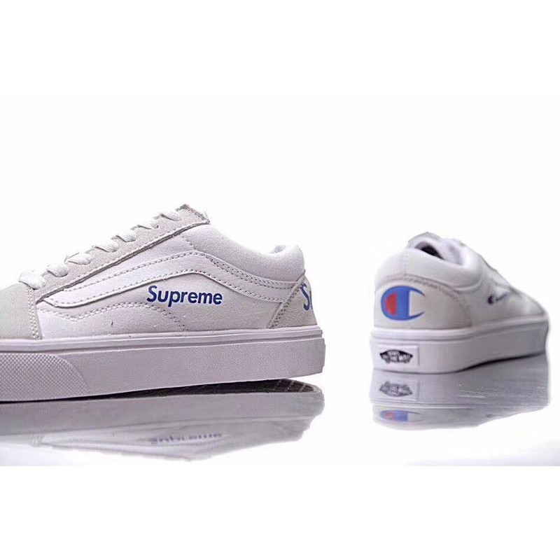 Supreme x Champion x Vans | Vans, Shoes, Vans sneaker