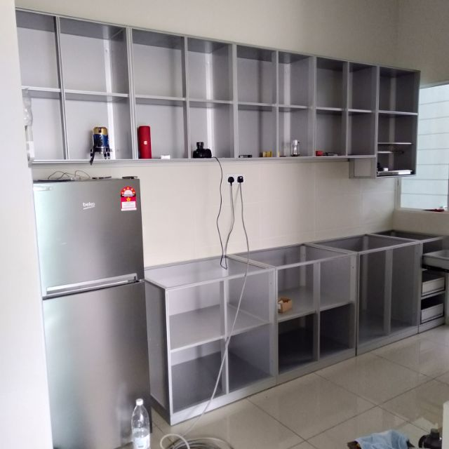 Kitchen Direct Cabinets: ($55/sq.ft) Melaka Aluminum Kitchen Cabinet.. Direct