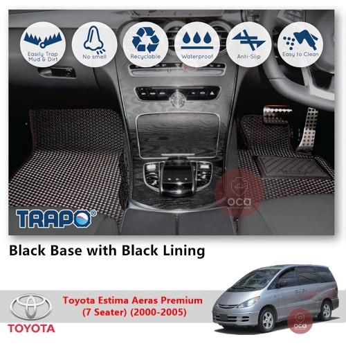 TRAPO Customize Car Floor Mat Toyota Estima Aeras Premium (7 Seater) (2000-2005)