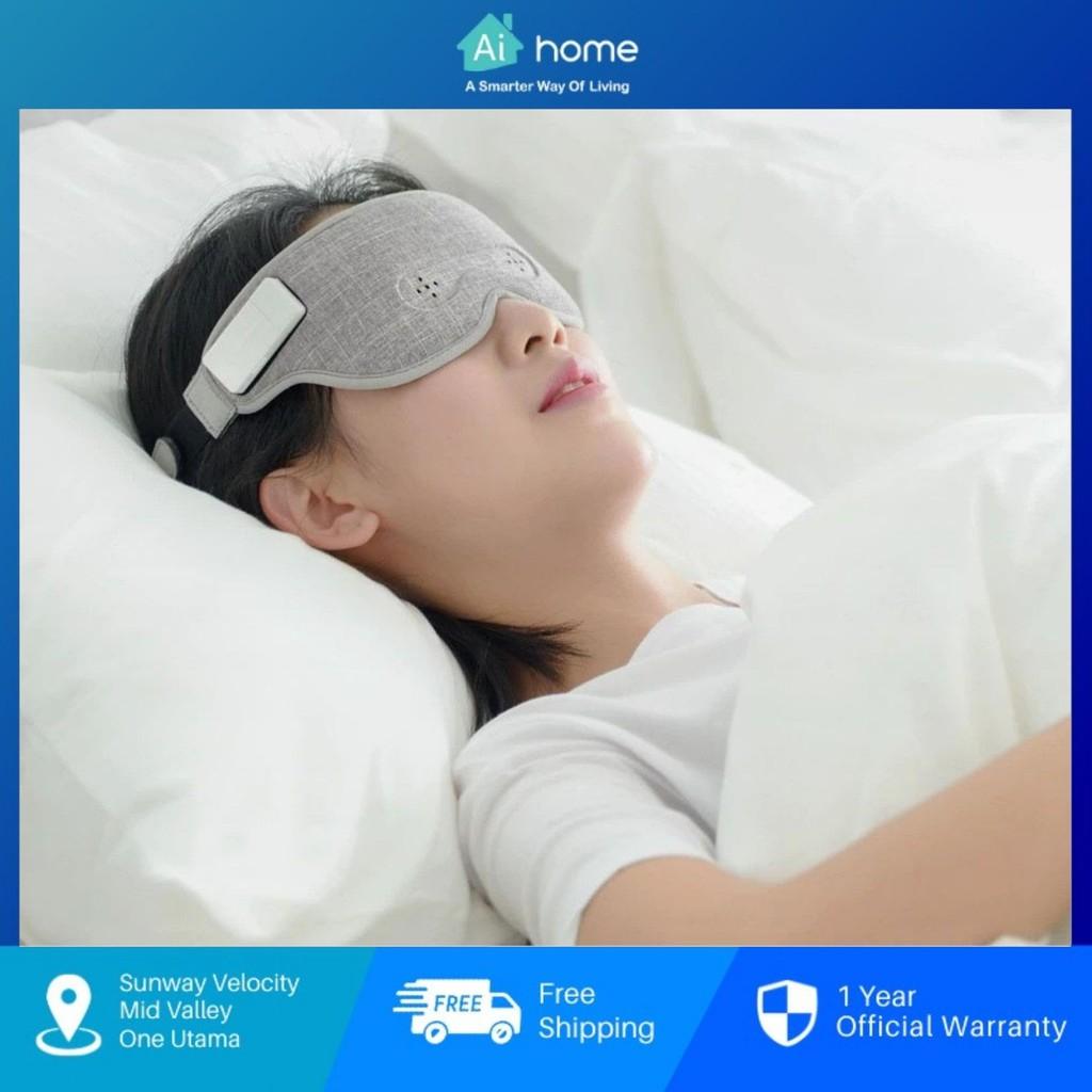 YIXIU AIR Smart Brainwaves Sleep Eye Mask - Brainwave Music | Bluetooth | 99% Shading | Refreshing and Breathable Aihome