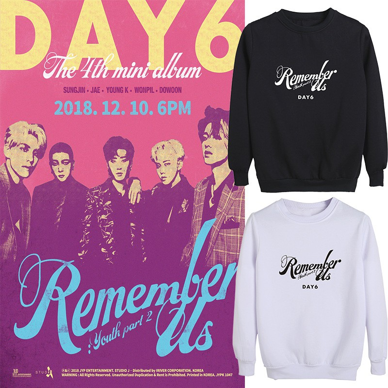 day6 album remember us youth part2 support round neck sweater day6