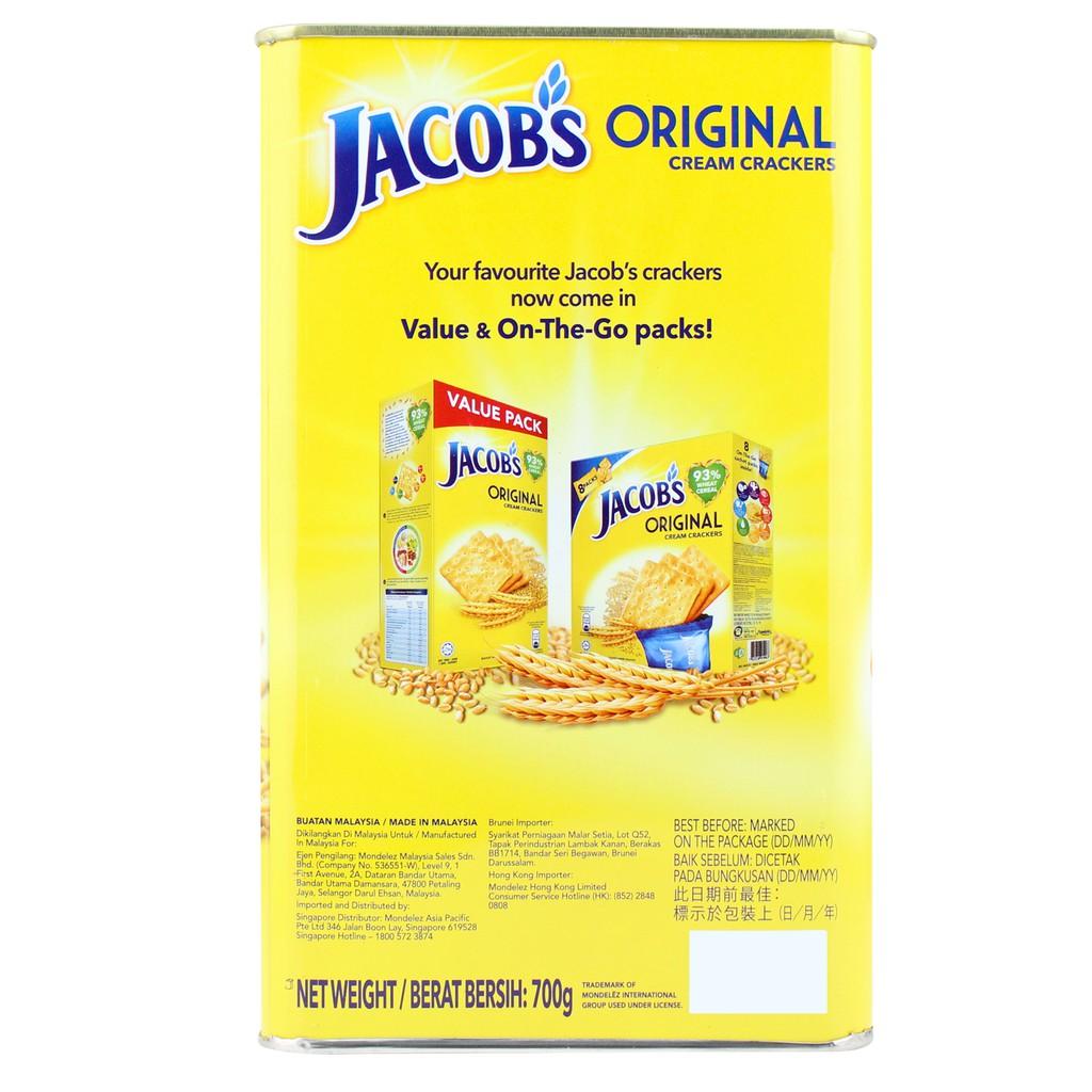Jacob's Original Cream Cracker (700g) | Shopee Malaysia