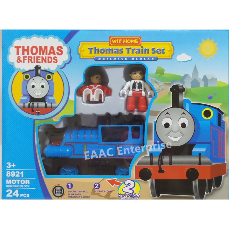 Thomas & Friends Bump & Go Train Set Building Blocks -24pcs