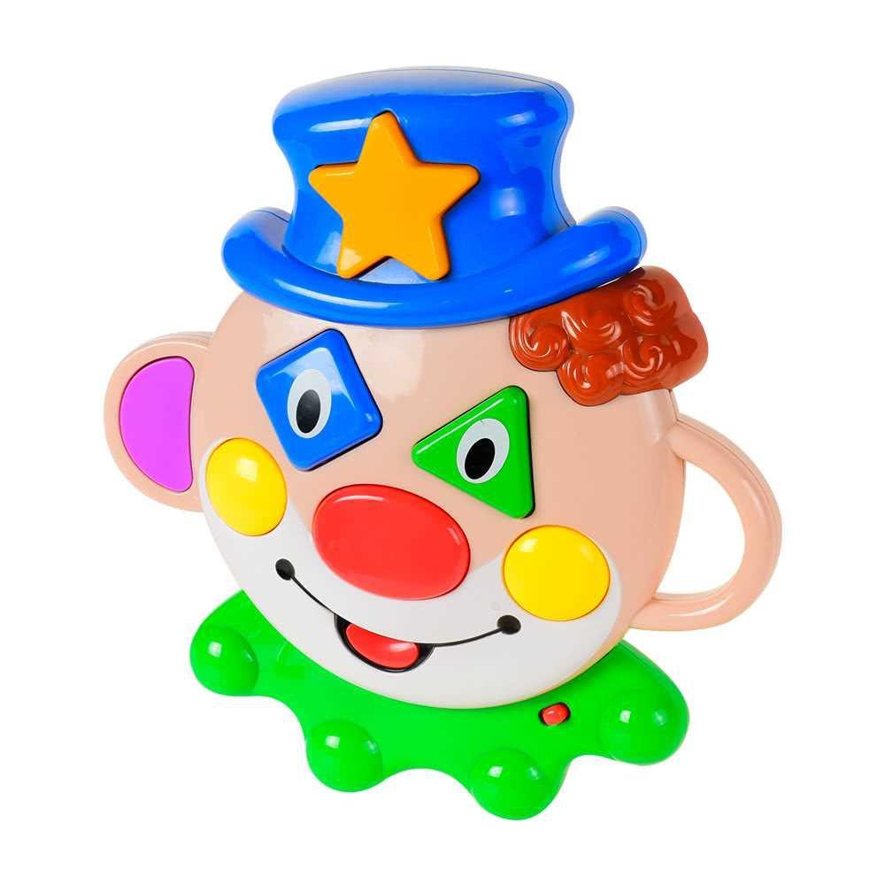Baoli Clown Mask Funny Clown Educational Toy Learning Machine for Kids (Multi Colour)