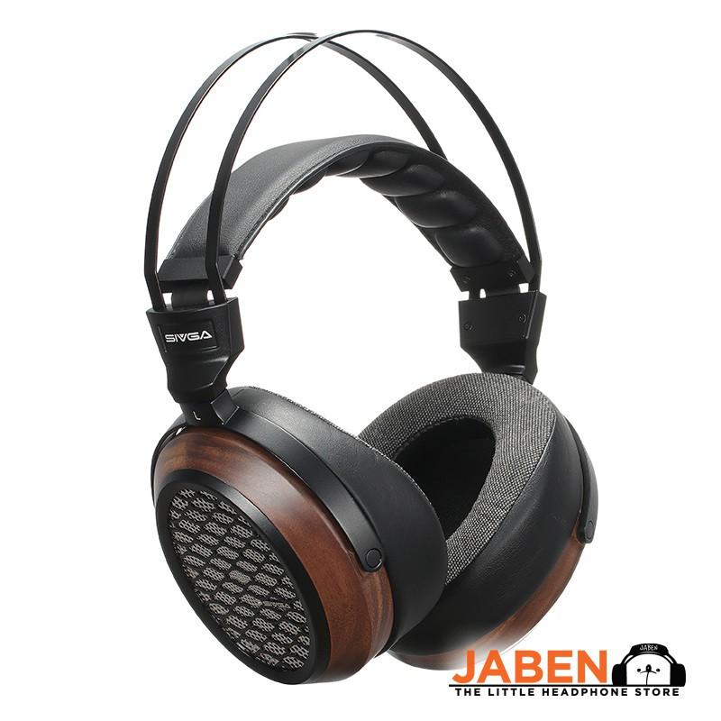 SIVGA P-II Planar Magnetic Walnut Wood Over Ear Open Back Headphone [Jaben] P2