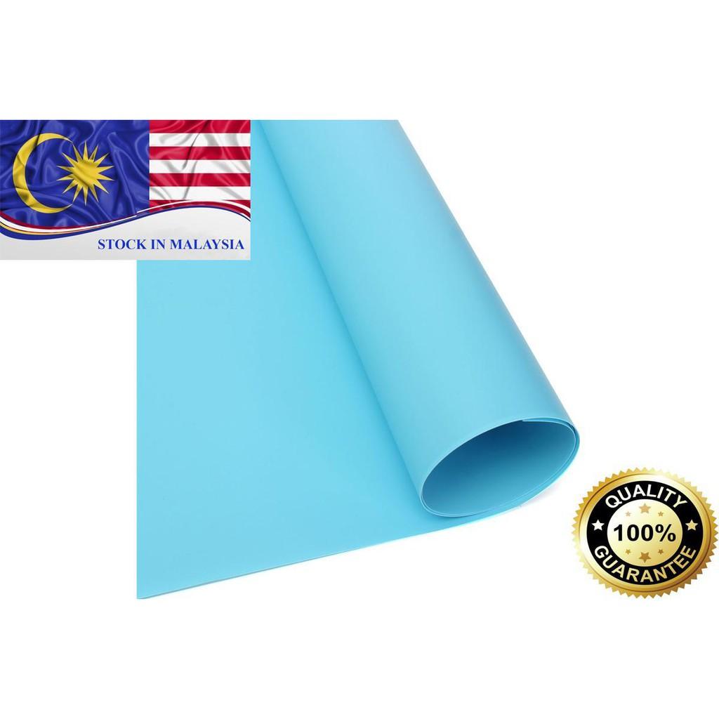 PVC Photography Studio Lighting Backdrop Washable Blue 200 x100cm (Ready Stock In Malaysia)