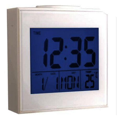 Voice Control Back-Light LCD Clock DS-3501
