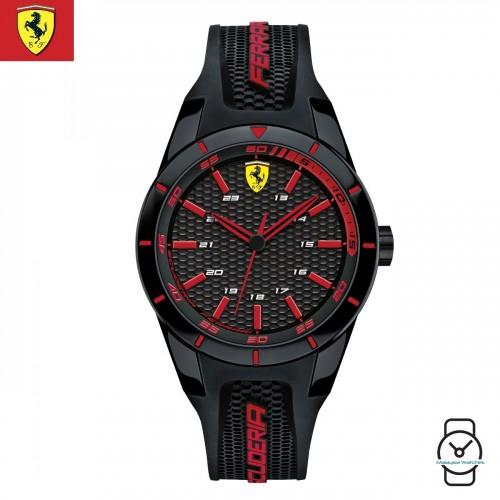 100% Original) Scuderia Ferrari Men s 0840005 Redrev Watch (Red ... 58d191380f