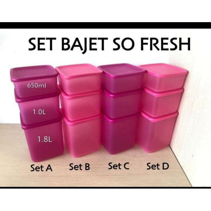 So fresh Square Set (3 pcs)