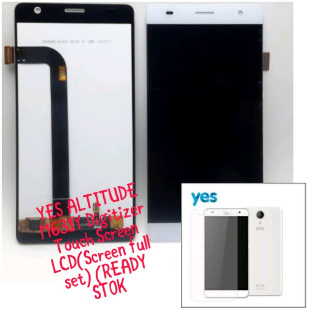 YES ALTITUDE M631Y Digitizer Touch Screen LCD(Screen full set) (READY STOK