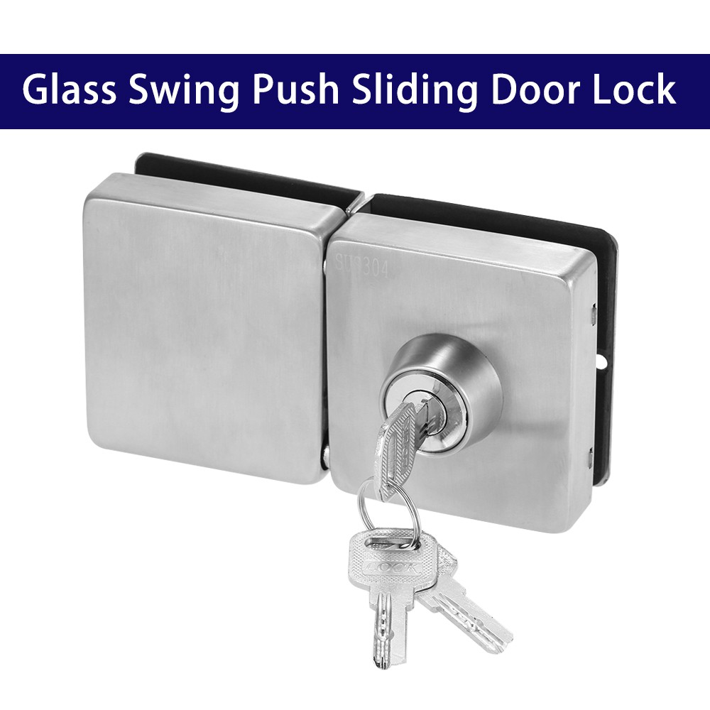 Entry Gate Clamp On Glass Swing Door Lock Key Knob Lt138a Ee Malaysia