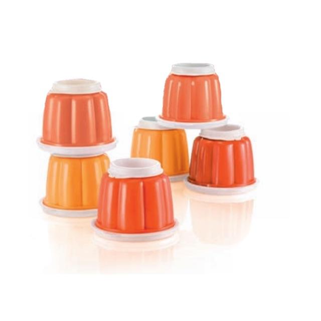 Tupperware Jellete Set (6) 120ml