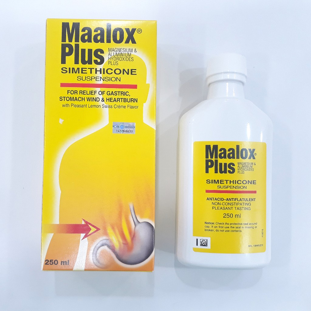 Sanofi Maalox Plus Suspension 250ml Shopee Malaysia Minyak Telon My Baby 90 Ml