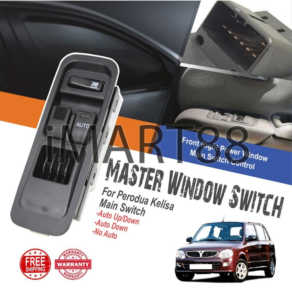 Perodua Kelisa Kenari Main Power Window Switch