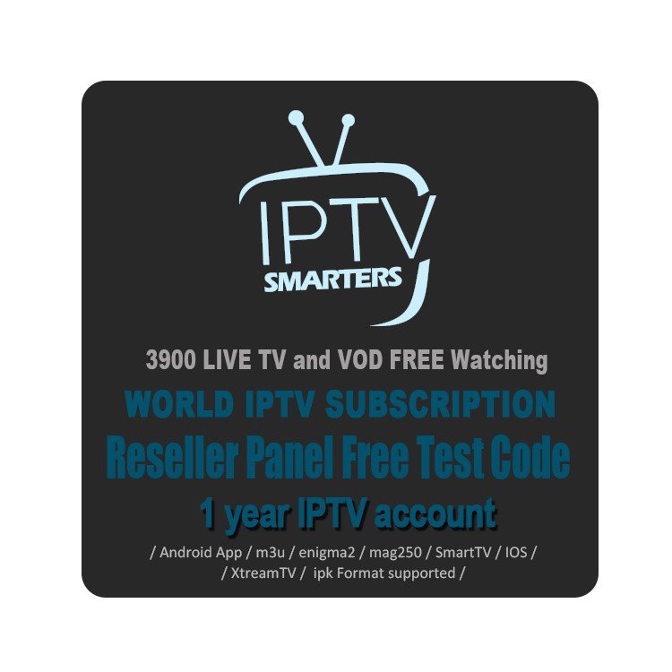 IPTV Free Reseller Panel Subscription 30 Countries 3900 Live Android TV Box