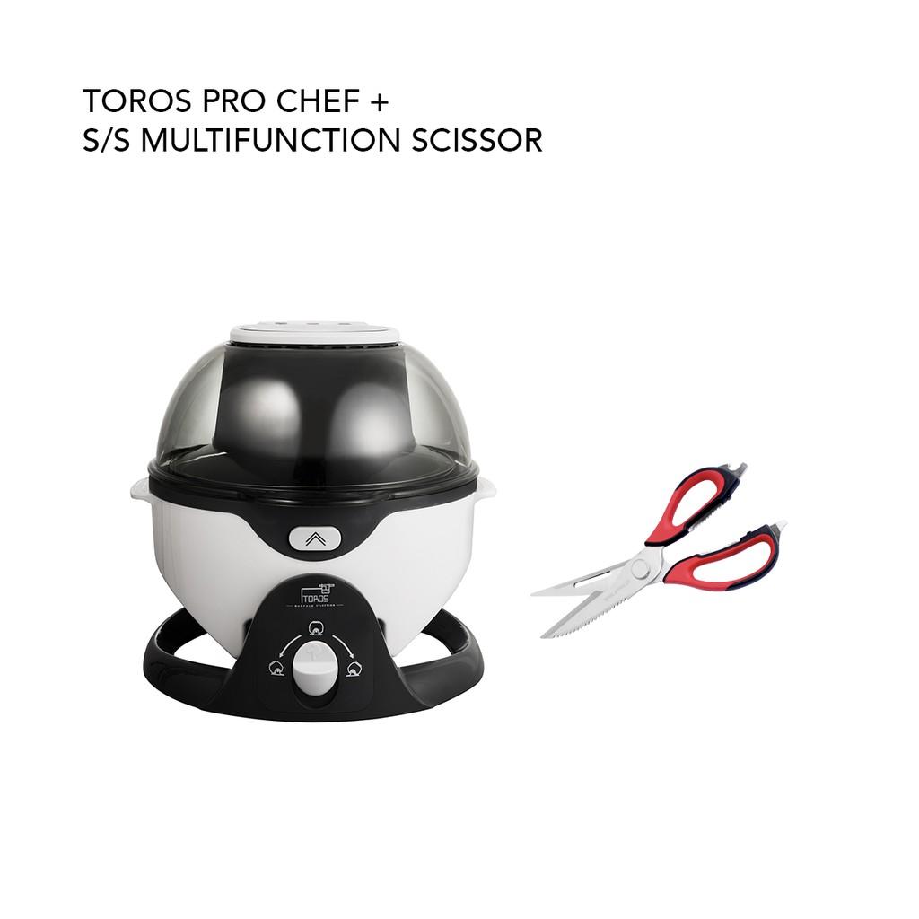 Toros pro chef + s/s multifunction scissor