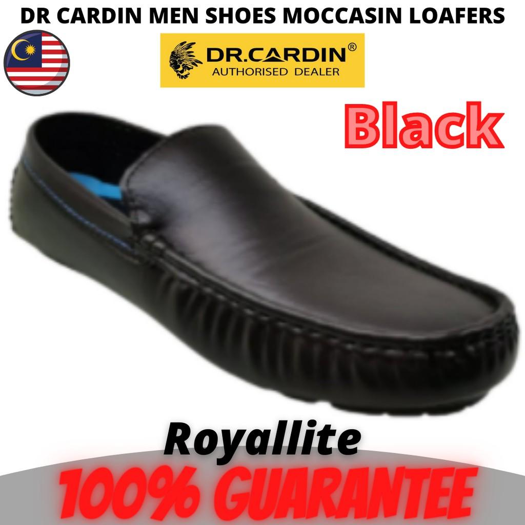 Dr Cardin Men Casual Slip-On Moccasin Loafers (60310) Tan & Black
