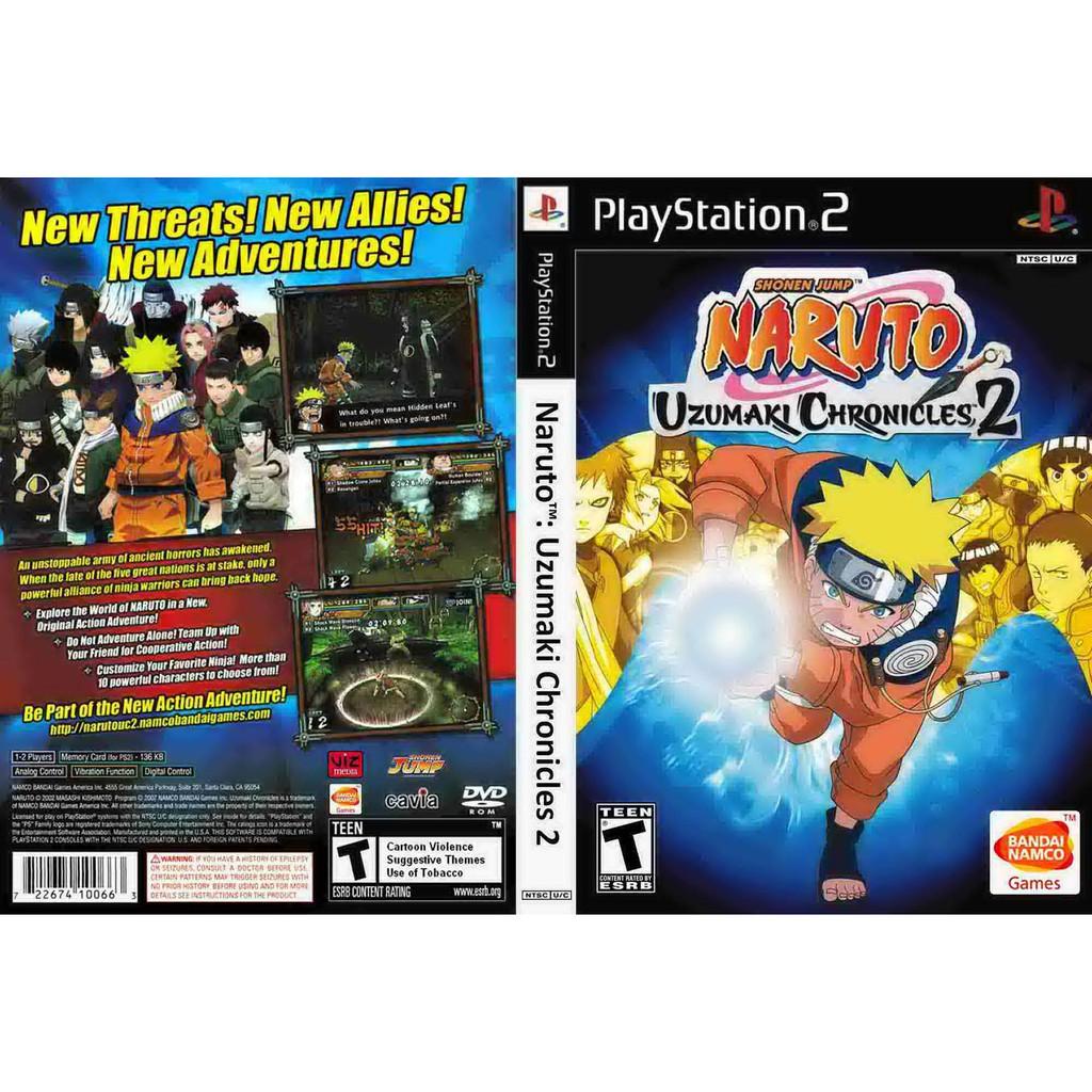 5d69482b0f4 PS2 Naruto Uzumaki Chronicles 2 | Shopee Malaysia