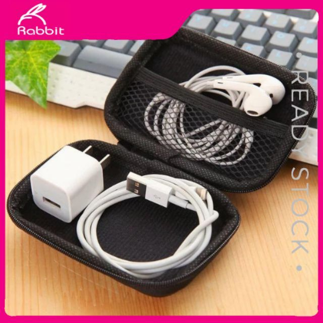Earphone Bag_ Wire Storage