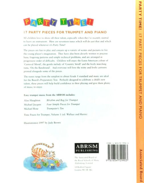 ABRSM PARTY TIME! Trumpet and Piano | Shopee Malaysia