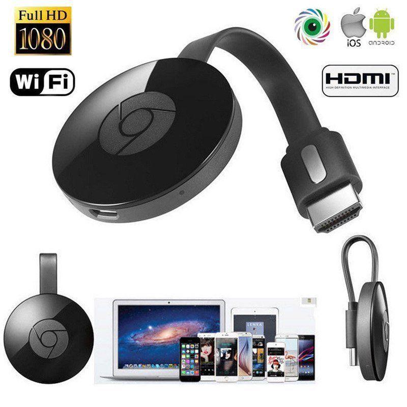 Brand New Chromecast Digital HD Media Streamer 2nd Generation Black