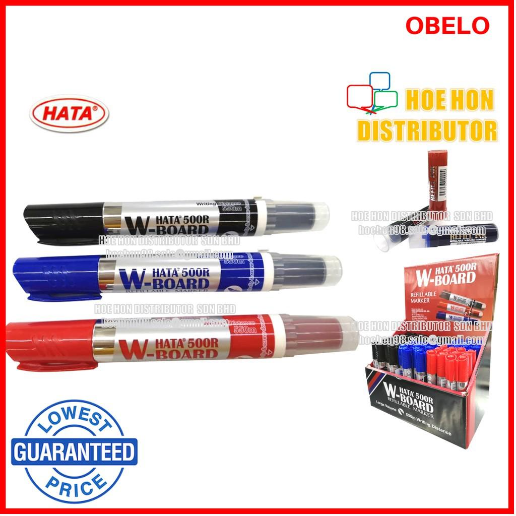 Hata 500R W-Board Refillable Marker(10's/Box) | Shopee Malaysia